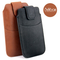 Handset Leather Men S Waist Bag For IPhone6 7 8Plus Real Mobile Phone Case Multifunctional Mobile