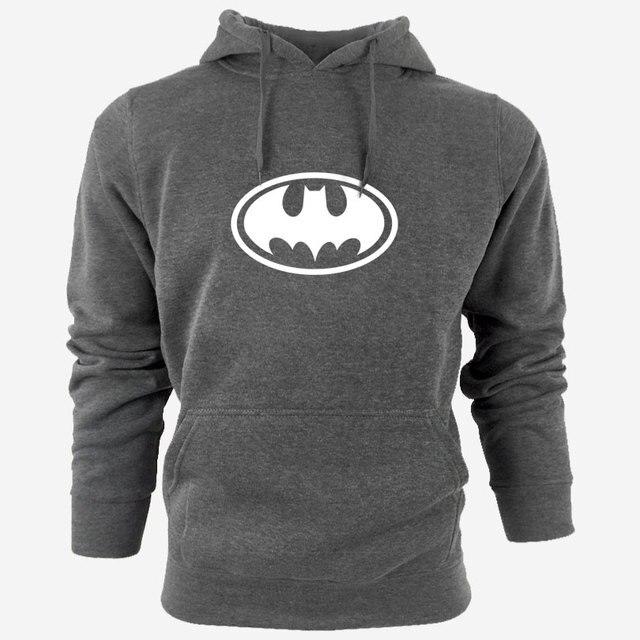 Sweat Capuche Hip Hop Logo Batman