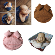 2018 New Newborn Photography Props Baby Posing Pillow Newborn Basket Props Baby Photography Studio Infant Photoshoot Accessories