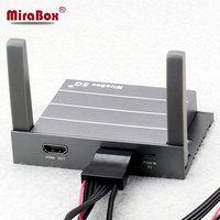 Универсальный HDMI Порты и разъёмы Поддержка Youtube iOS10 Andriod портативных ПК Mirabox 5 г автомобилей, Wi Fi Mirrorlink коробка реализовать автомобиль домашне