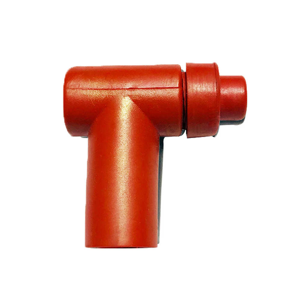 90 Degree Ignition Tool For Moped Scooter Replacement Durable High Temperature Resistance Motocycle Anti Corrosion Spark Cap