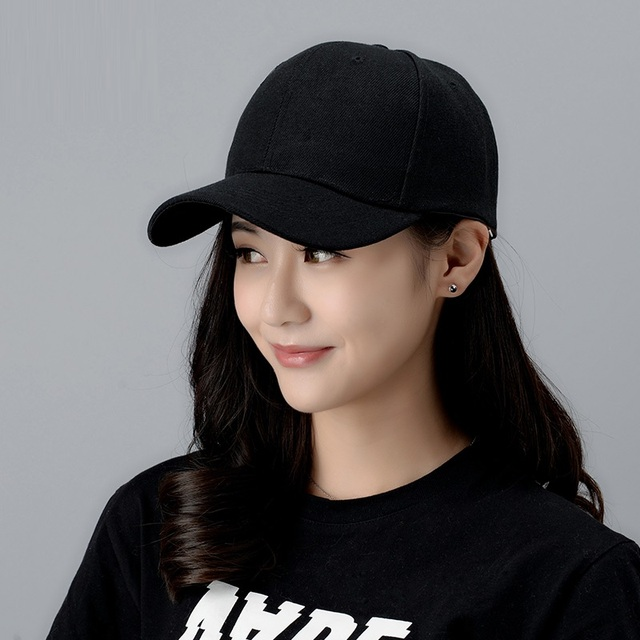 Female Baseball Cap Girls Hip-hop Students Baseball Hat Students Outdoor  Sun Hat Girls Visor 150203ef9e8b