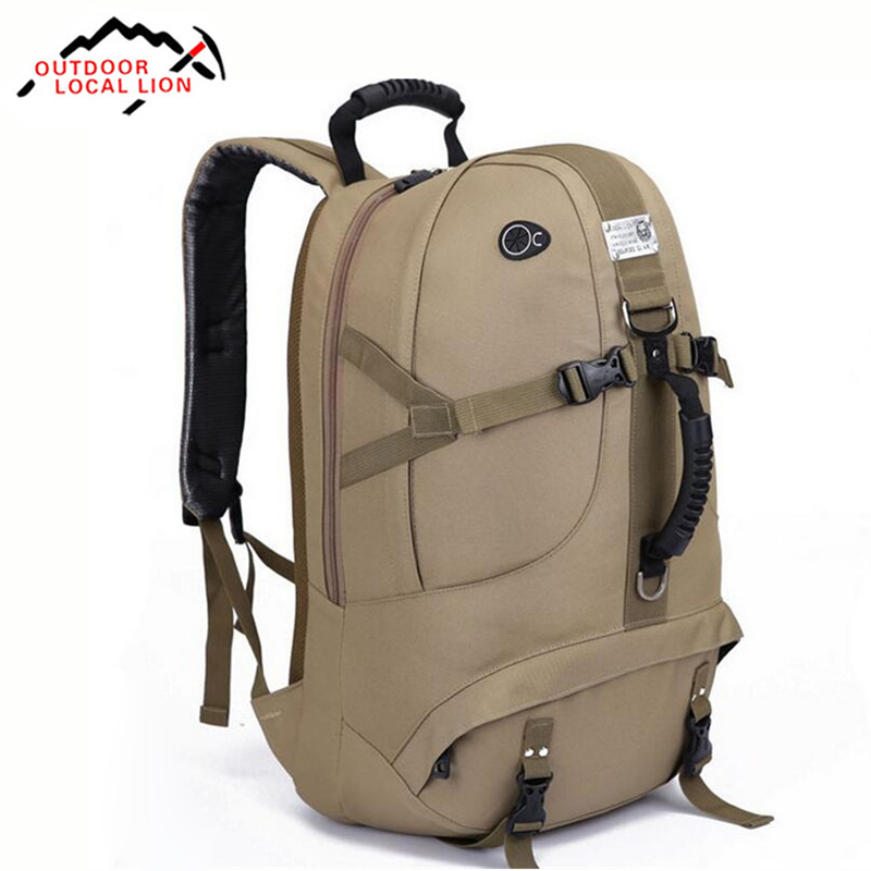 Tactical Backpack 40L Climbing Bags Camping Back pack Outdoor Waterproof Nylon Hiking Packsack Travel Bag Knapsack Lightweight 25l universal outdoor foldable soft backpack lightweight multi pocket climbing tool storage bag waterproof nylon climbing bags