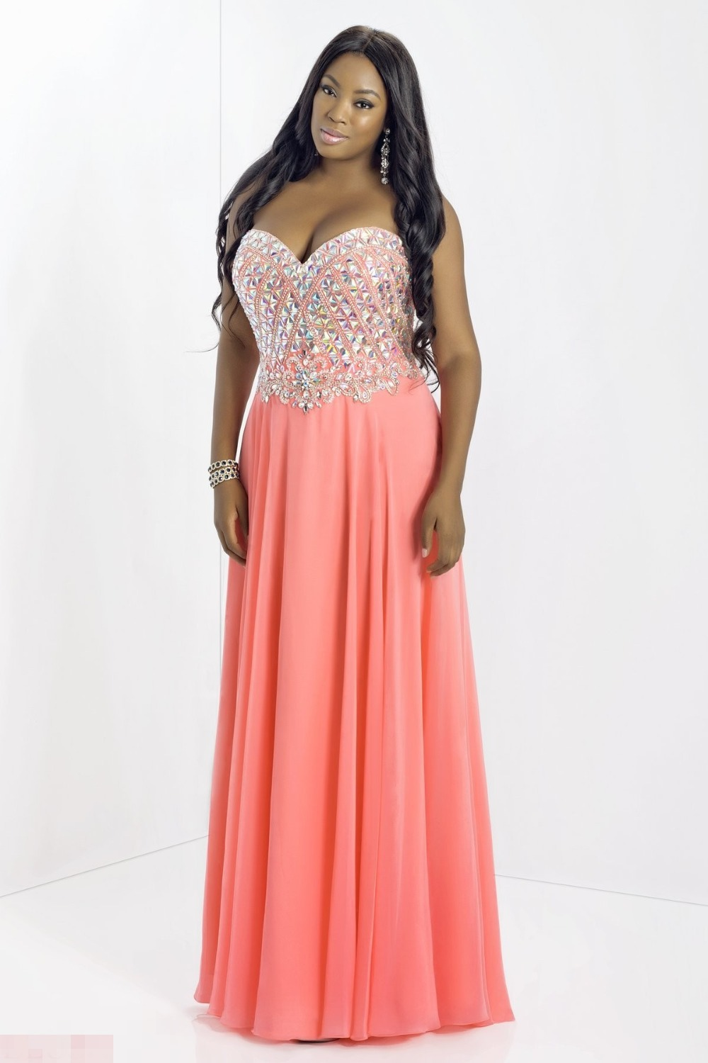 cheap plus size prom dresses page 2 - young