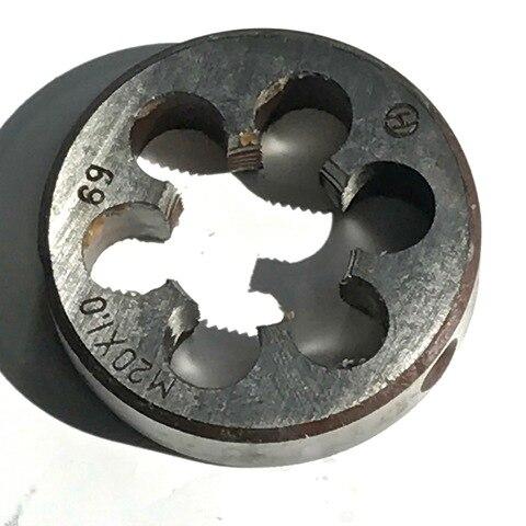 Morre para a Máquina de Threading Peças de Aço Grátis de 1 Frete Feito Métrica Die M20 * 1.0 – 1.5 2.0 2.5mm Máquina ss pc Hss6542