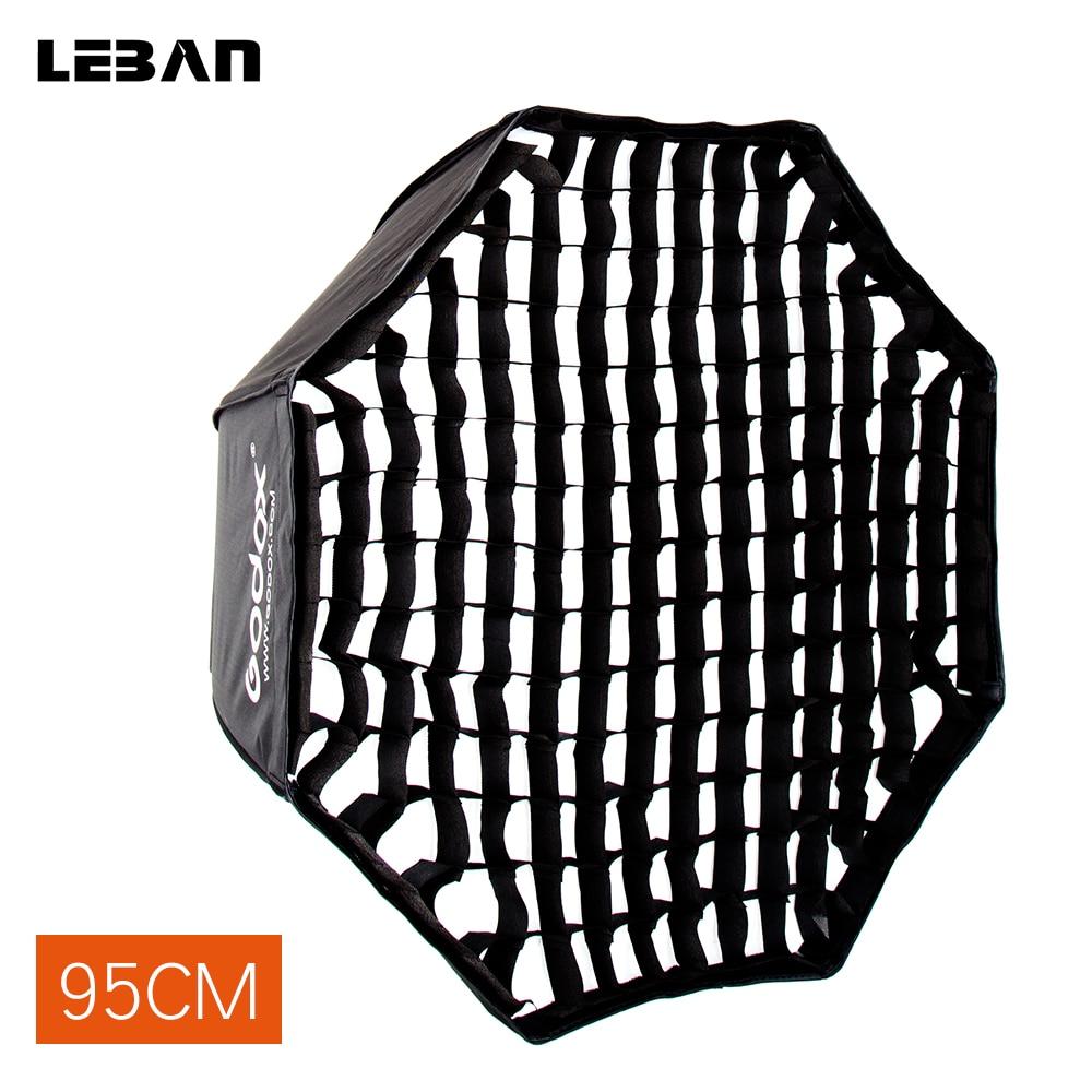 Godox Portable 95cm 37 5 Reflector Umbrella Softbox Honeycomb Grid for Flash Speedlight