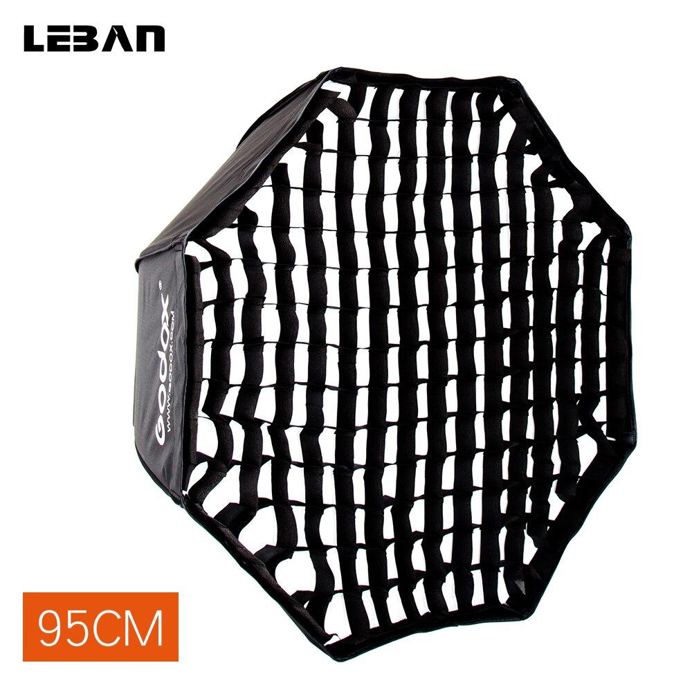 "Godox Draagbare 95 cm 37.5 ""Reflector Paraplu Softbox + Honingraat voor Flash Speedlight-in Softbox van Consumentenelektronica op  Groep 1"