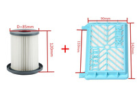 2pcs Vacuum Cleaner Accessories Cleaner Wind The HEPA Filter Element For Philips FC8712 FC8714 FC8716 FC8720