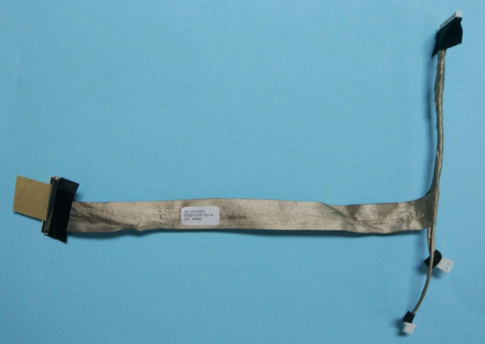 цена на FREE SHIPPING NEW Screen LVDS FLEX Cable FOR ACER Aspire 5920 5920G ZD1  P/N DD0ZD1LC000