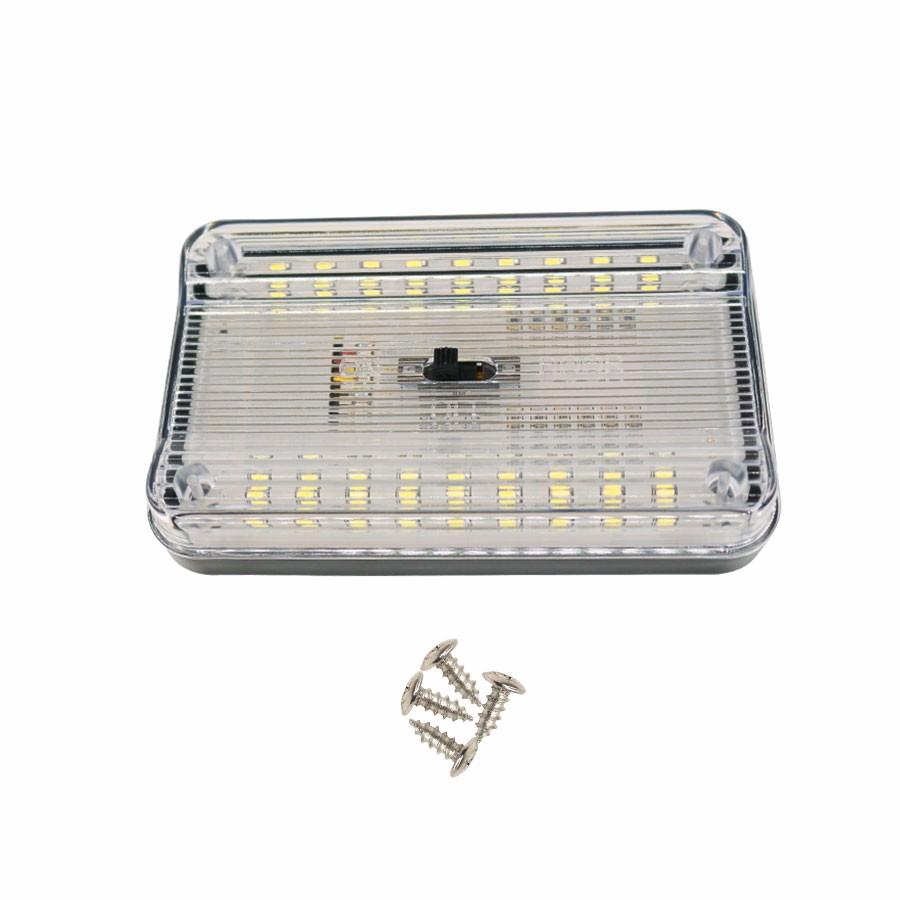 auto led light Car Dome Light 36 SMD LED Roof Rectangular Ceiling Interior Lamp-White 3