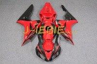 Black red Injection Fairing Body Work Frame Kit for HONDA CBR1000RR CBR 1000 CBR1000 RR 2006 2007