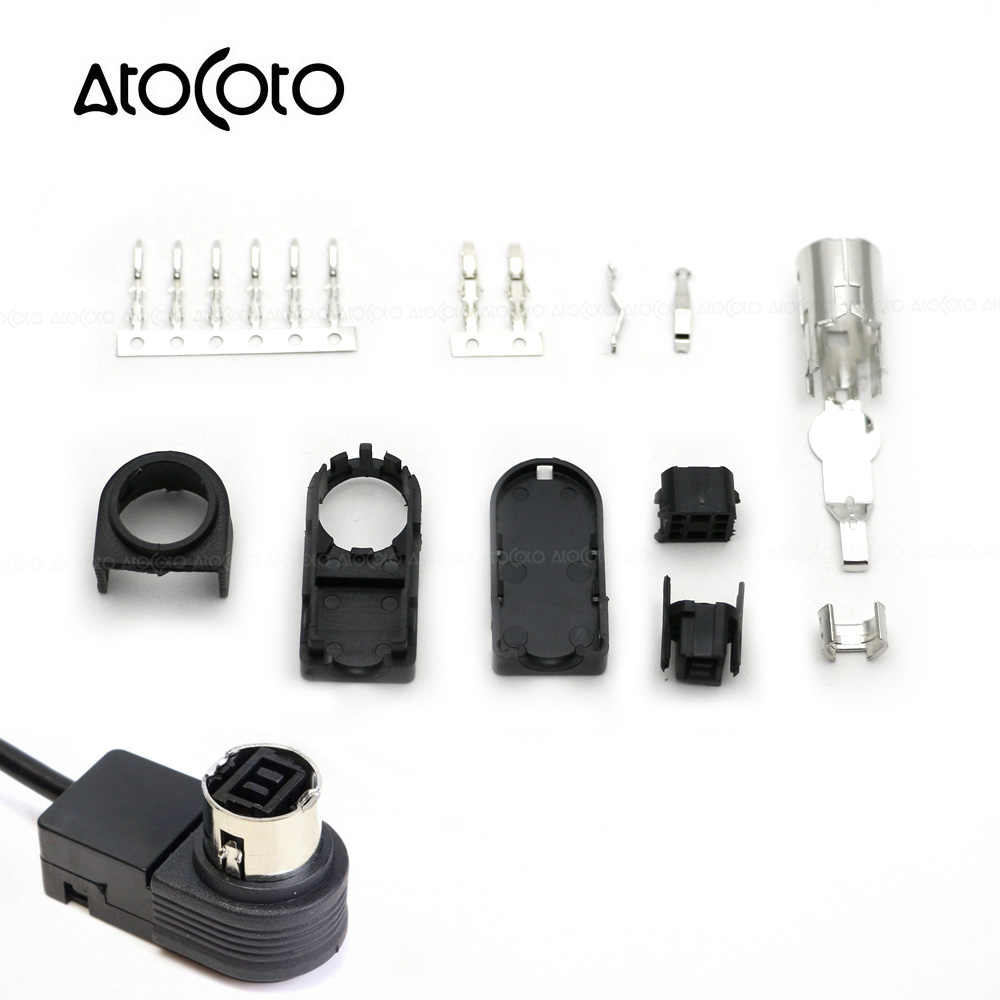 AtoCoto Audio Input AUX with 8 Pin for JVC Head Unit CD