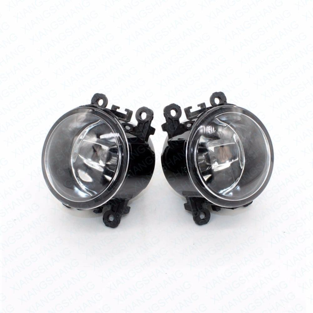 ФОТО 2pcs Auto Right/Left Fog Light Lamp Car Styling H11 Halogen Light 12V 55W Bulb Assembly For OPEL Zafira A F75_ MPV 2001-2005