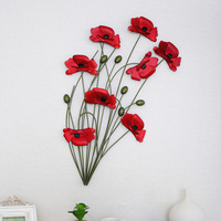 Tieyi poppy muons fashion rustic wall hanging home decoration wall hangings