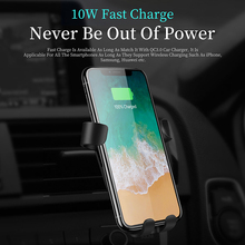 iPhone Xs Max XR X Car Wireless Charger