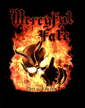 CAMISA Oficial do MERCYFUL FATE cd cvr NÃO QUEBRAR O JURAMENTO Novo rei diamante(China)