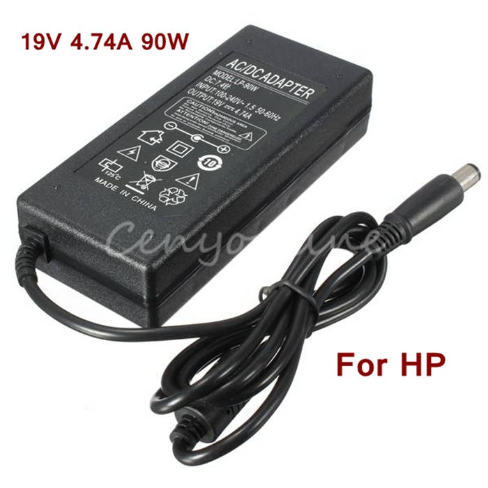 Perfect 19V 4.74A 90W 7.4x5.0mm Replacement Laptop AC Power Adapter Charger For HP N113 DV5 DV6 DV7 For Compaq Notebook yunda replacement 90w 4 74a 7 4 x 5 0mm power adapter for hp laptop black ac 100 240v
