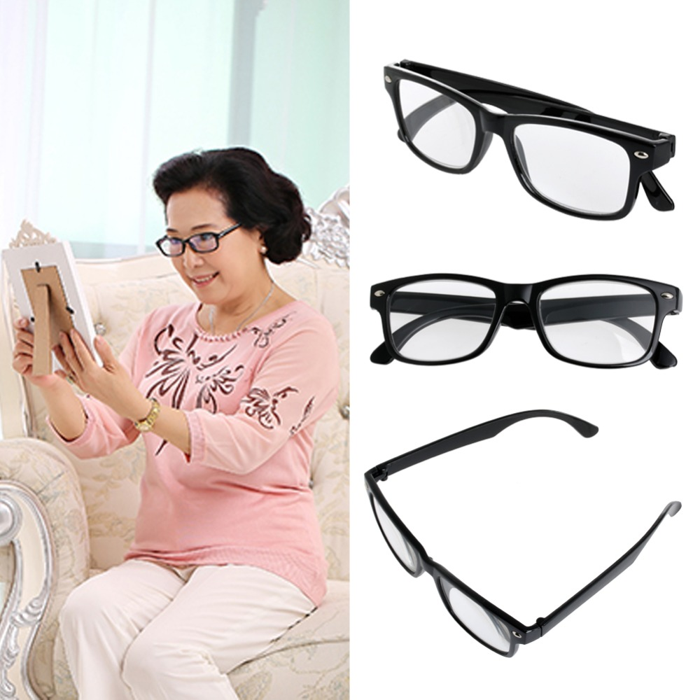 2017 New Style Womens Mens Fashion Retro Full Frame Reading Glasses 1 0 To 4 0 Mar20 15 In