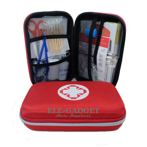 Image 2 - 17 Items/93pcs Portable Travel First Aid Kits For Home Outdoor Sports Emergency Kit Emergency Medical EVA Bag Emergency Blanket
