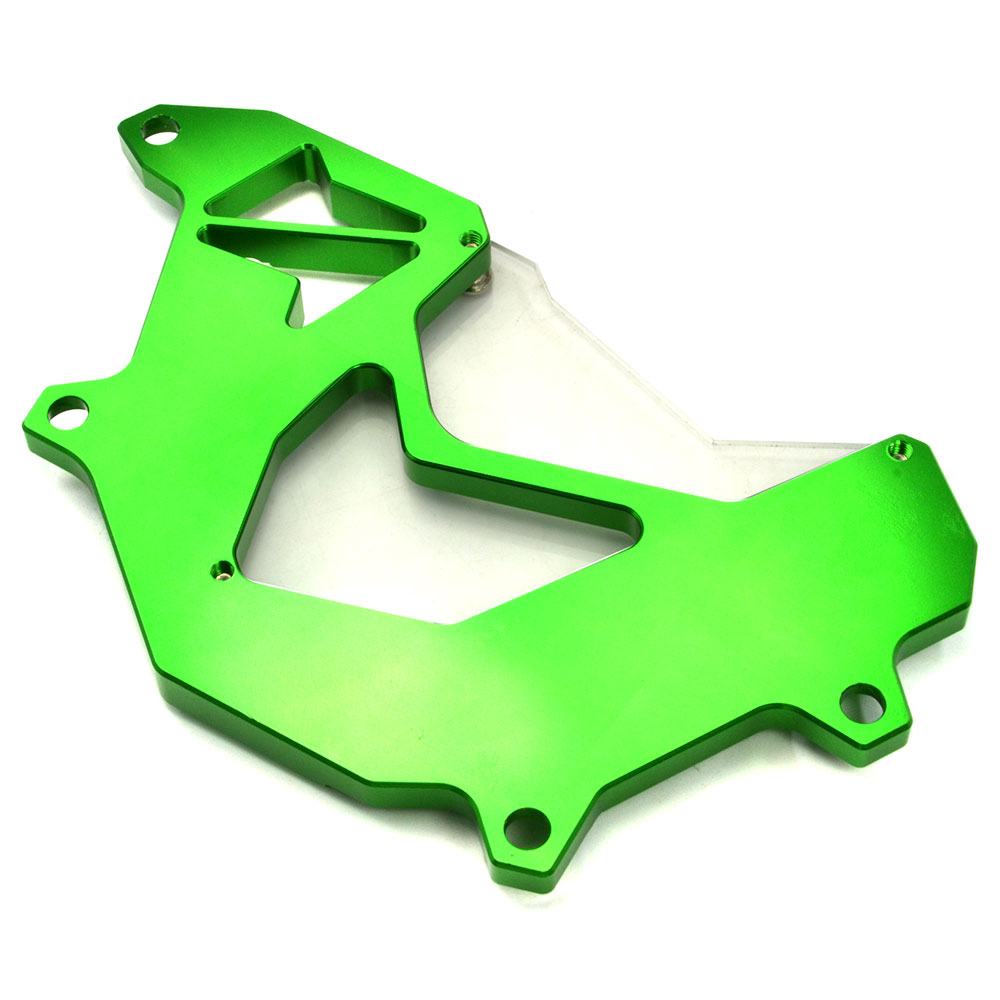 Image 3 - BJMOTO For Kawasaki Z750 Z800 2013 2016 Motorcycle Front Sprocket Cover Panel Left Engine Guard Chain Cover Protectionfront sprocket coverengine guardsprocket cover -