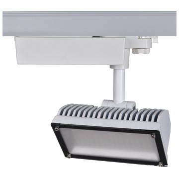 Hot sell Line 4 Led track lighting 20W with 60pcs Samsung SMD5630, Commercial lighting big exhibition clothing store