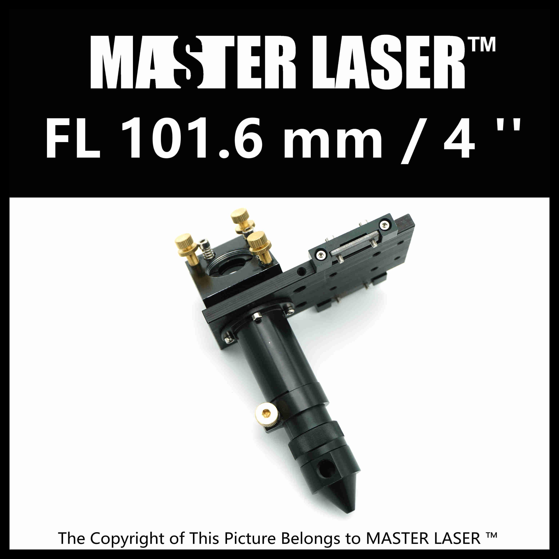 Laser Head for Focus Lens Dia. 19 & 20mm FL101.6mm Mirror 25mm Mount for Laser Engraving Cutting Machine 1320nm laser lens probe tip head for sale