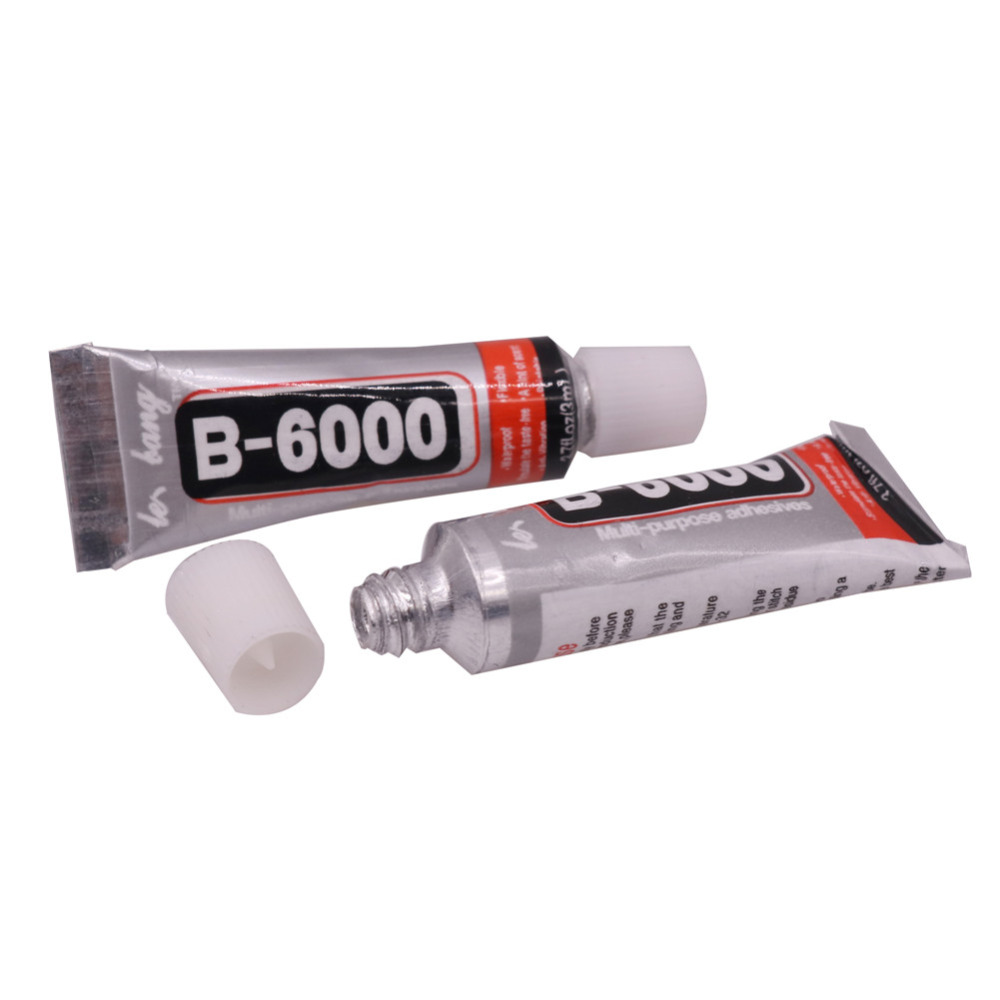 10 Pcs B-6000 Glue 3ml Multi Purpose B6000 Adhesive Rhinestone Crystal Jewelry Craft Diy Touch Screen Cell Phone Repair Glass