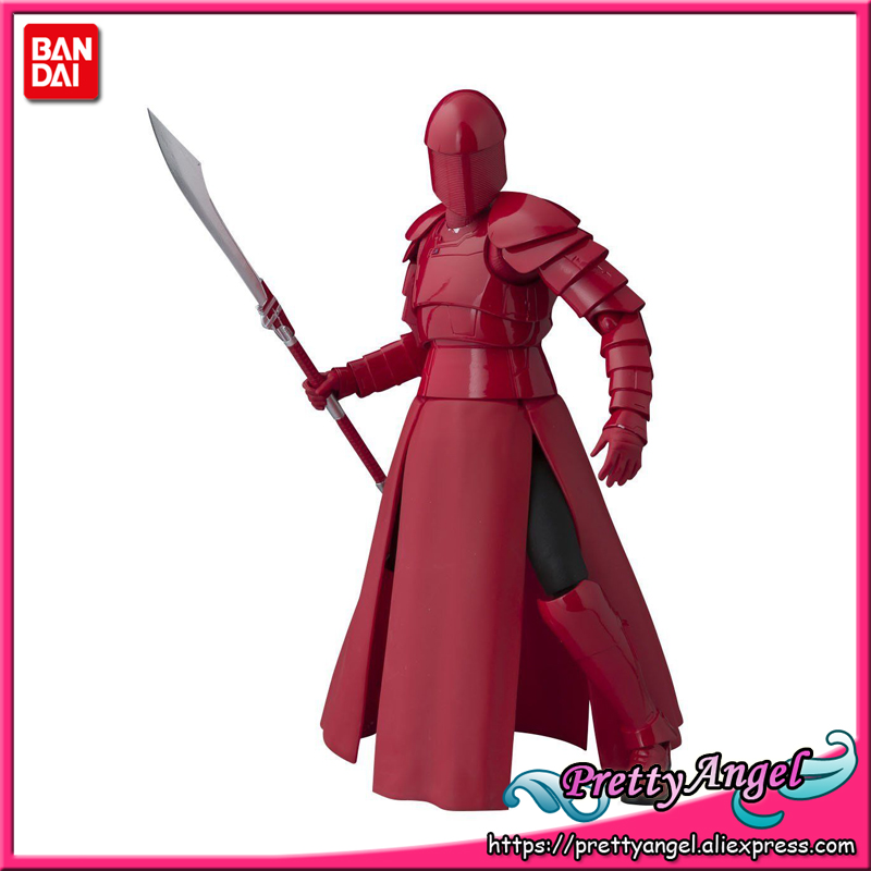PrettyAngel - Genuine Bandai Tamashii Nations S.H. Figuarts Elite Praetorian Guard (With Whip Staff) Action Figure цена 2017