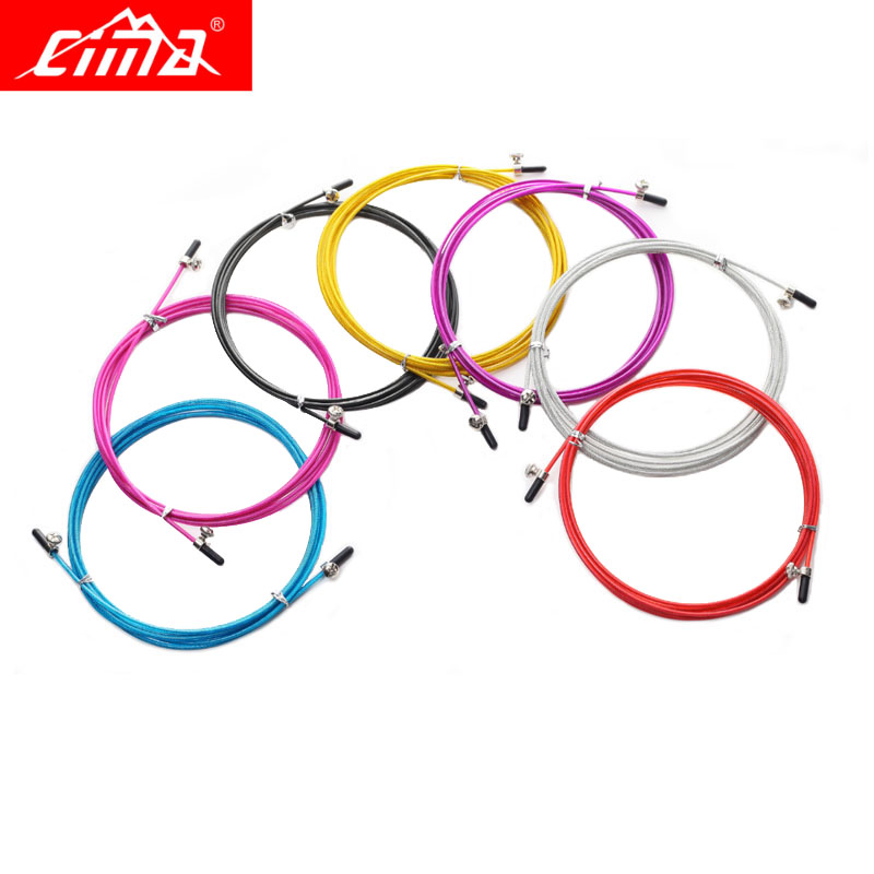 Steel Wire With Screw For Jump Ropes 3m Spare Crossfit Fitness Rope Replaceable Wire Cable Metal Speed Jump Rope Skipping Rope