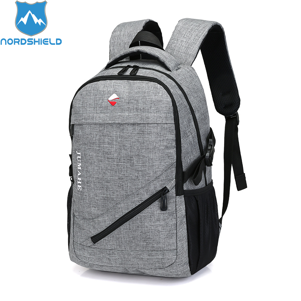Nordshield Brand Men Casual 15.6 inch Laptop Backpack for Teenagers Oxford Waterproof School Bag Large Capacity Boys Travel Bag balang brand school backpack for teenagers boys girls large capacity travel backpack for men 15 6 inch laptop waterproof bags