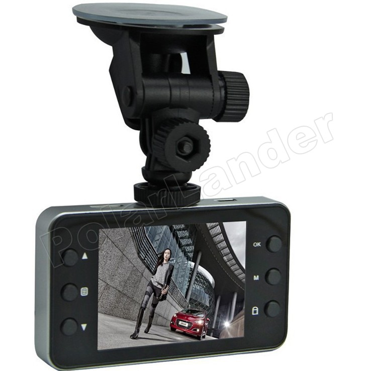 IR Night vision <font><b>K6000</b></font> <font><b>Car</b></font> <font><b>DVR</b></font> Video Camera Recoder HDMI motion Detection 120 degree wide viewing angle Full HD 1080P image