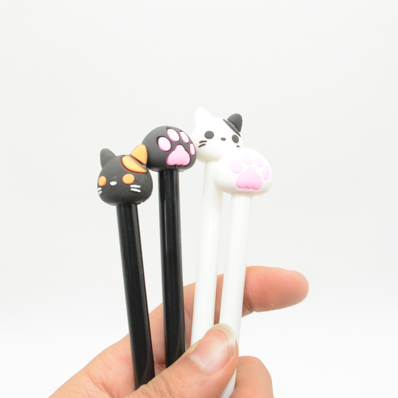 12 Pcs Set gel pen Cat 39 s claw caneta Kawai lapices Creativity kalem stationary material escolar cute stationery boligrafo in Gel Pens from Office amp School Supplies