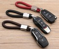 Подарок автомобиль ПУ кожаный брелок кольцо держатель авто Логотип для KIA K2 K3 K5 Форте Sorento Borrego Рио Sportage KX5 KX3 аксессуары