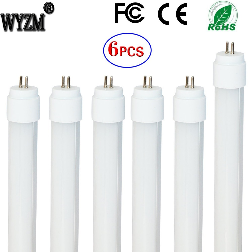 ( US Warehouse ) 6-Pack of 7W 12inch (301mm pin to pin) T5 LED Fluorescent Tube Light F8T5/CW Cool White Frosted Cover-110vAC us navy uss carl vinson cvn 70 supercarrier 5 inch patch d19