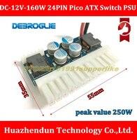 TOP SELL DC 12V 160W 24PIN Pico ATX Switch PSU Car Auto Mini ITX DC TO