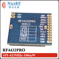 20pcs/lot  14km Long distance range|100mW SPI Interface RF4432PRO 433MHz Wireless Module