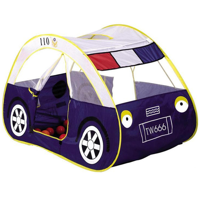 2017New High Quality Child Kids Play Tent Folding Car Toy Tent Large Game House Indoor Outdoor Beach Play House Free Shipping