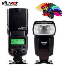 VILTROX JY-680A Universal Camera LCD Flash Speedlite for Canon 1300D 1200D 760D 750D 80D 5D IV 7D Nikon 7200D 5500D 5D 610D 750D(China)