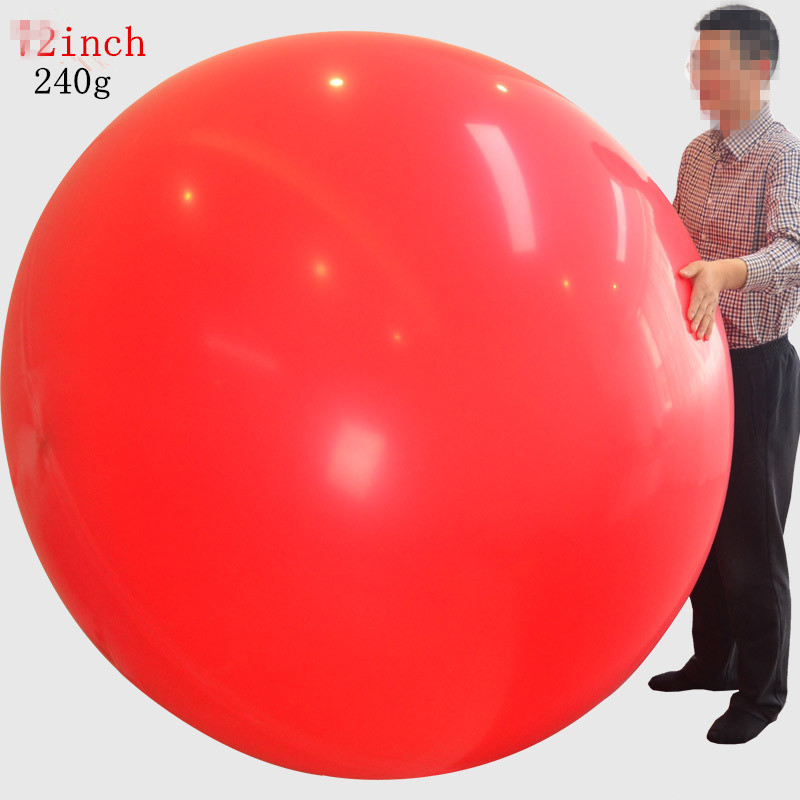 72 Inch Super Big Round Latex Balloon For Showing