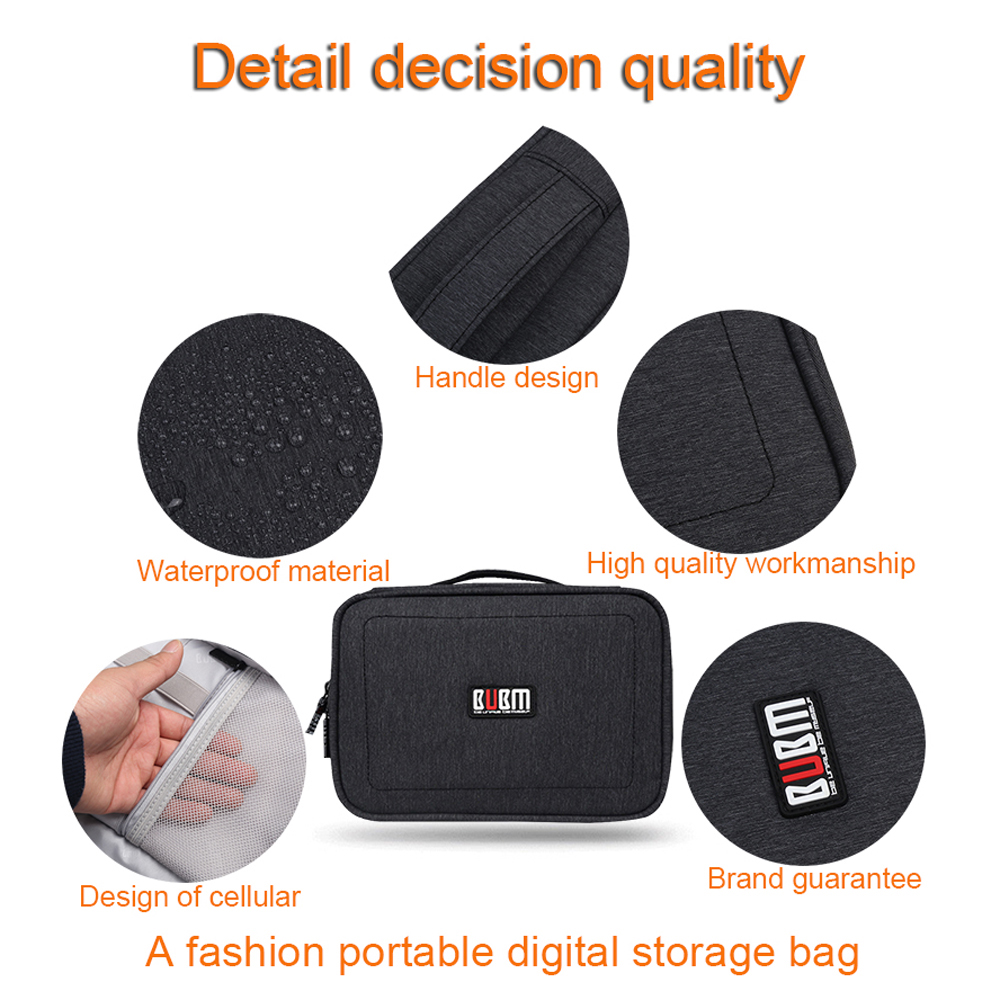 Gadget Organizer Case Digital Storage Bag Electronics Organizer For Chargers  Cables Hard Drive IPad Mini Protection Pouches In Storage Bags From Home ...