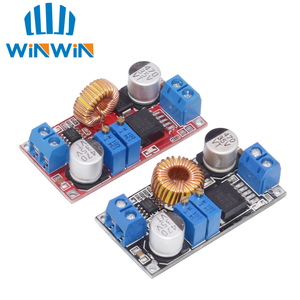 5A DC To DC CC CV Lithium Battery Step Down Charging Board Led Power Converter Lithium Charger Step Down Module Hong XL4015 E1
