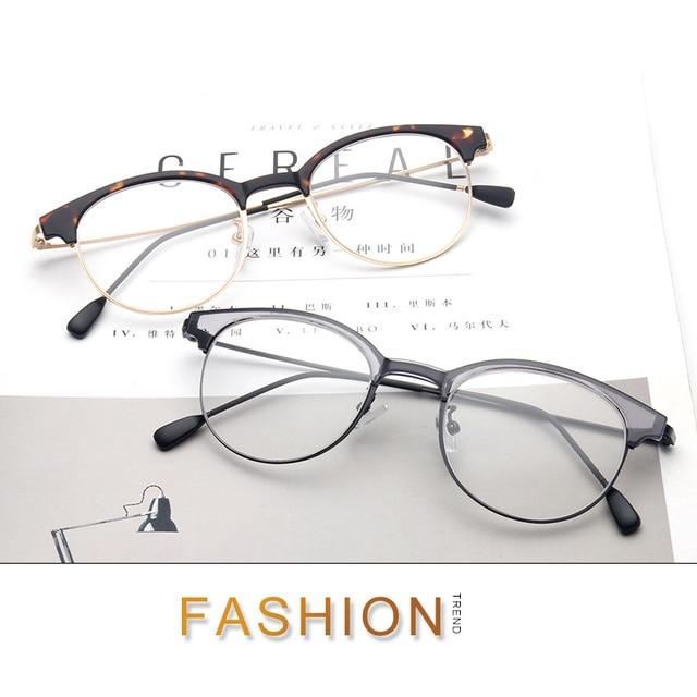 2017 New Women Men Vintage Round Eyewear Frames Retro Optical Glasses Frame Eyeglasses Goggle Oculos Prescription eyewear 51106