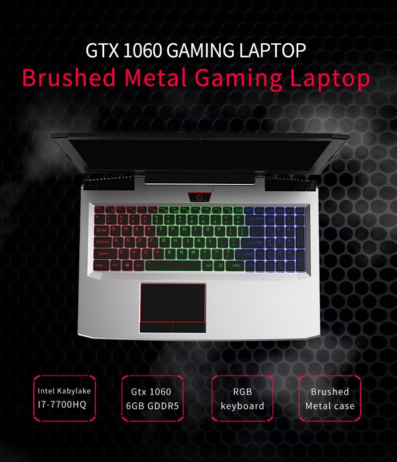 HTB1dYpMgnAKL1JjSZFCq6xFspXal - BBEN Laptop Nvidia GTX1060 GDDR5 Intel i7 Kabylake 8GB RAM M.2 SSD RGB Backlit Keyboard Win10 WiFi BT Gaming Computer 15.6'' IPS