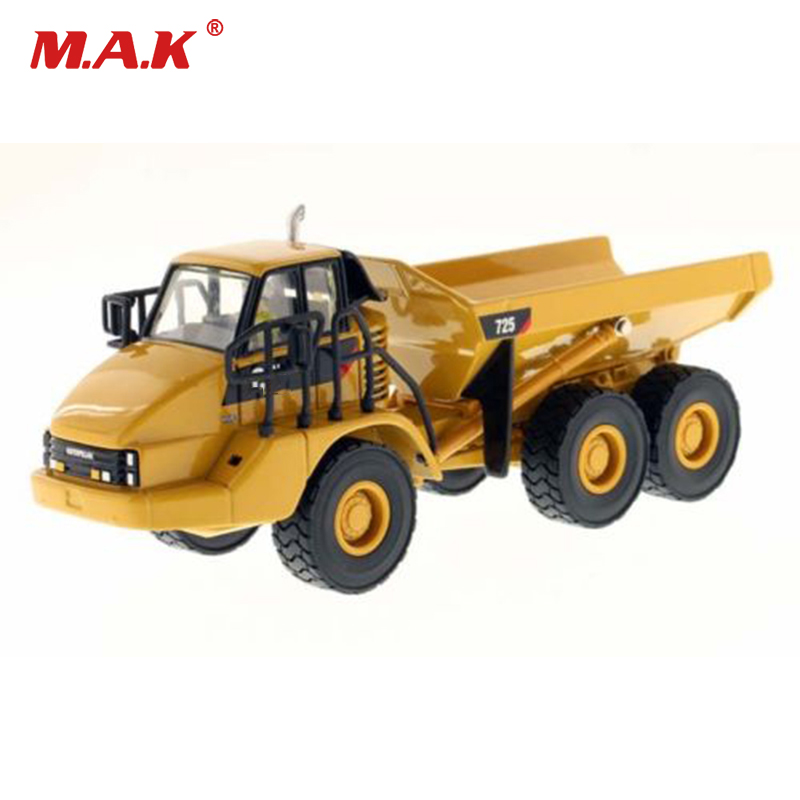 Diecast Truck DM 1:50 Scale 725 Articulated Dump Truck Diecast Tipper Vehicle Container Transporter Kids Toys Collection Gift