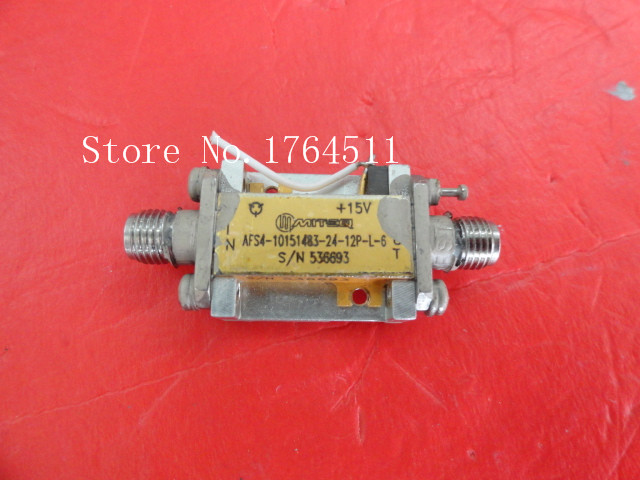 [BELLA] MITEQ AFS4-10151483-24-12P-L-6 15V SMA Supply Amplifier