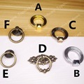 Ring Pulls Antique style copper furniture knob/pull/ring handle for doors/cabinets/cupboard
