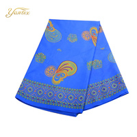 YANTEX African Java Wax Designs Nigeria Hollandais Real Dutch Wax African Fabric 6 Yards Wax Hollandais