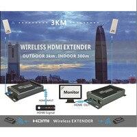 Mirabox 1080 P HDMI удлинитель передатчик приемник с аудио эксрактор Беспроводной HDMI удлинитель 3 км максимально открытый