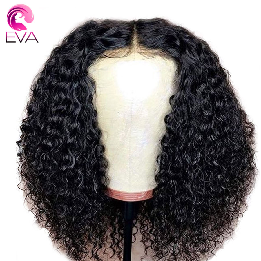 Eva Hair Full Lace Human Hair Wigs Pre Plucked Brazilian Curly Wig For Black Women Lace Wigs With Baby Hair Remy Hair