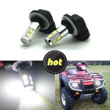 Modifygt 2PCS Signal Light 880 881 Led Bulb For Cars H27W/2 H27W2 Auto LED light car styling Fog 12V 24V motocycle auto